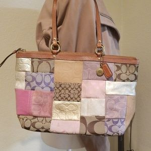 Coach Patchwork Tote Purse